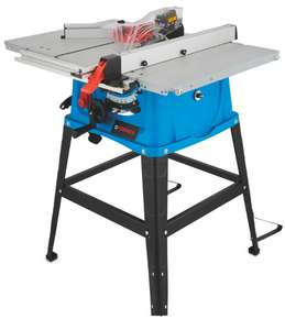Ferrex Table Saw + 3 Year Warranty - £89.99 + £6.95 delivery @ Aldi