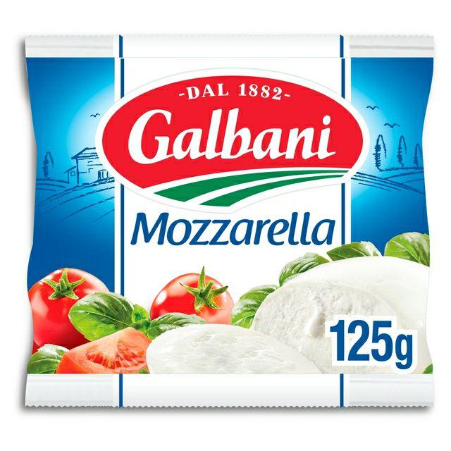 3 x Galbani Mozzarella 125g - £1 @ Fulton Foods