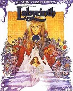 Labyrinth (30th Anniversary Edition Blu-Ray) Brand New Sealed £4.93 Delivered @ Rarewaves-outlet/Ebay