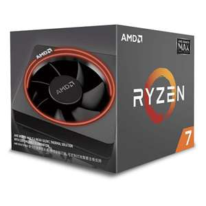 AMD Ryzen 7 2700 Processor with Wraith Max RGB LED Cooler £180.87 (£175 w/fee fee card) delivered @ Amazon Spain