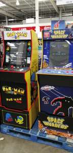 Arcade up 1 PAC man or Space invaders game cabinet with Riser £323.98 instore Costco Coventry
