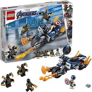 LEGO 76123 Marvel Avengers Endgame Outriders Attack Toy, Super Heroes Playset Only 12.97 (+£4.49 Non Prime) @ Amazon