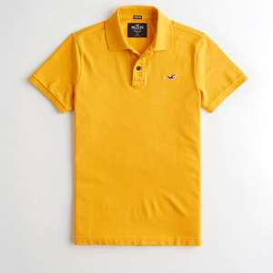 Yellow Polo Shirt - £7.50 @ Hollister (Free Click & Collect)