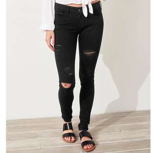 Classic Stretch Low-Rise Super Skinny Jeans £12.48 delivered at Hollister Or £7.48 with free C&C