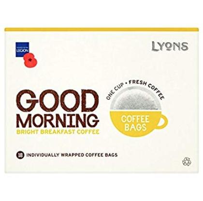 Lyons coffee bags (18pk) £1.49 @ Home bargains prenton / wirral