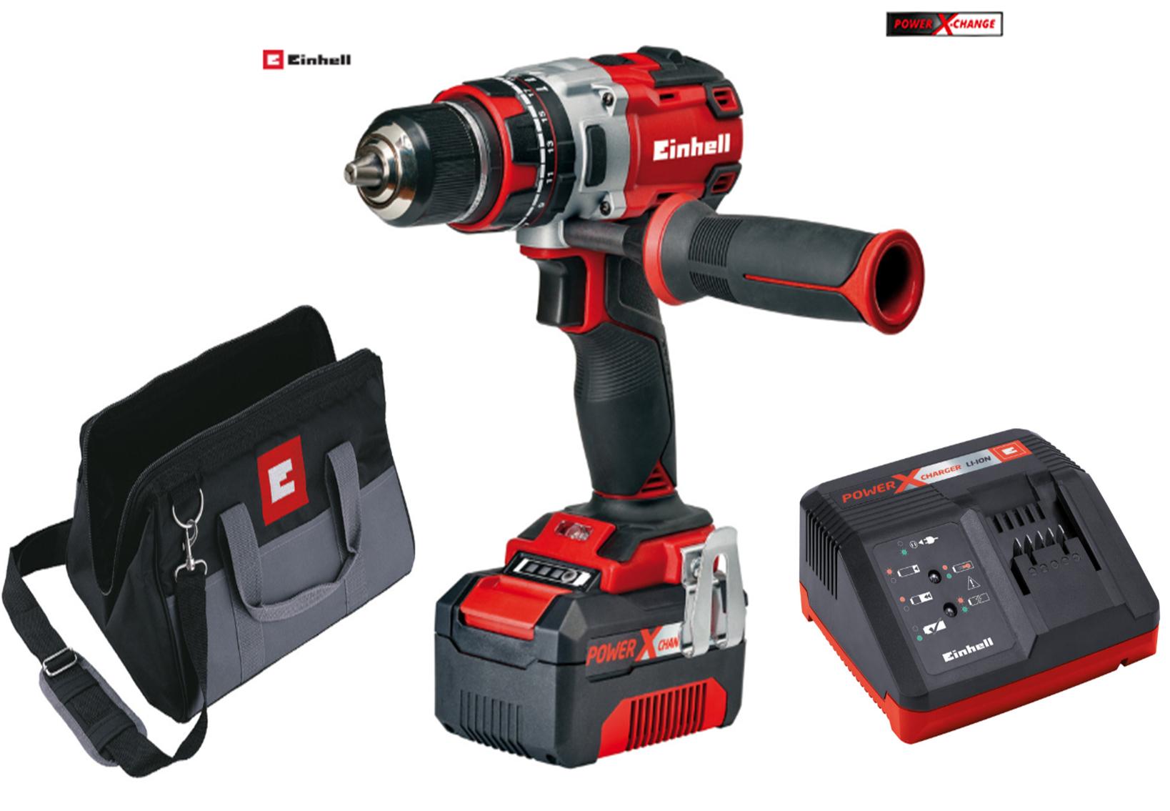 Einhell PXC TE CD18Li-I BL Power X-Change 18V Li-Ion Cordless Brushless Combi Drill 1 x 4.0Ah battery - £89.98 delivered @ Tootlstation