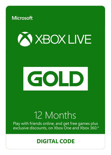 Xbox LIVE Prepaid 12 Month Gold Membership Card (EU+EFTA) £37.85 @ Shopto