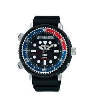 SEIKO Men's Prospex Padi Solar Strap Watch SNJ027P1 £319 at Lowry Jewellers