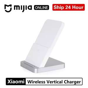 Original Xiaomi Vertical Air Cooled Wireless Charger 30w MAX With Flash Charging £30.40 @ MIJIA ONLINE Store/Aliexpress