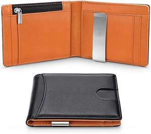 RFID Blocking Slim Bifold Wallet Genuine Leather £3.00 delivered Dispatched from and sold by HZ MEI Trading Co., Ltd. Amazon
