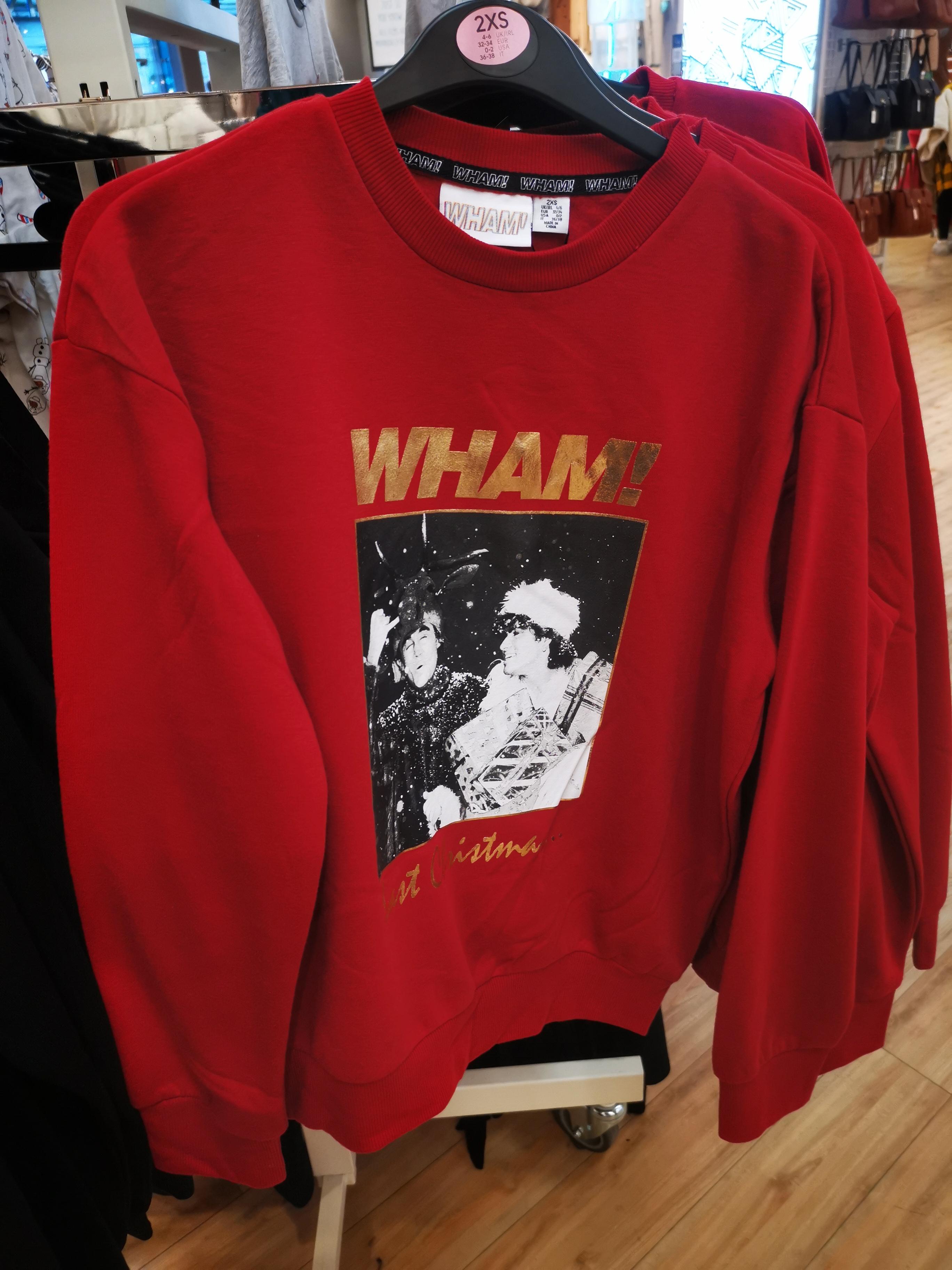 Wham! Last Christmas Sweater, £10 In Store @ Primark (Argyle Street, Glasgow)