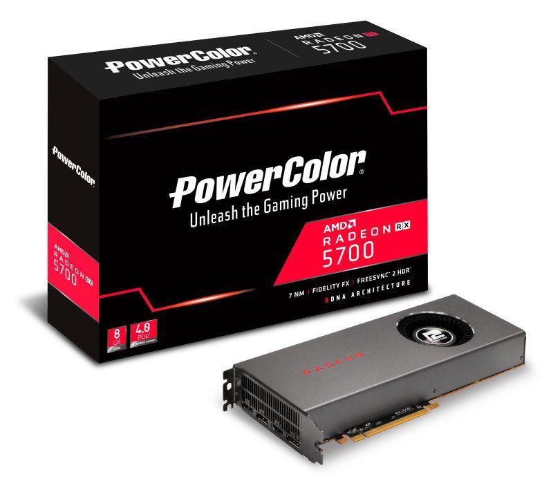 PowerColor Radeon RX 5700 8GB GDDR6 Graphics Card - £309.09 @ Ebuyer (+£3.49 P*P)