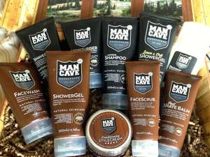 40% off 5+ full size products with voucher Code @ Mancave