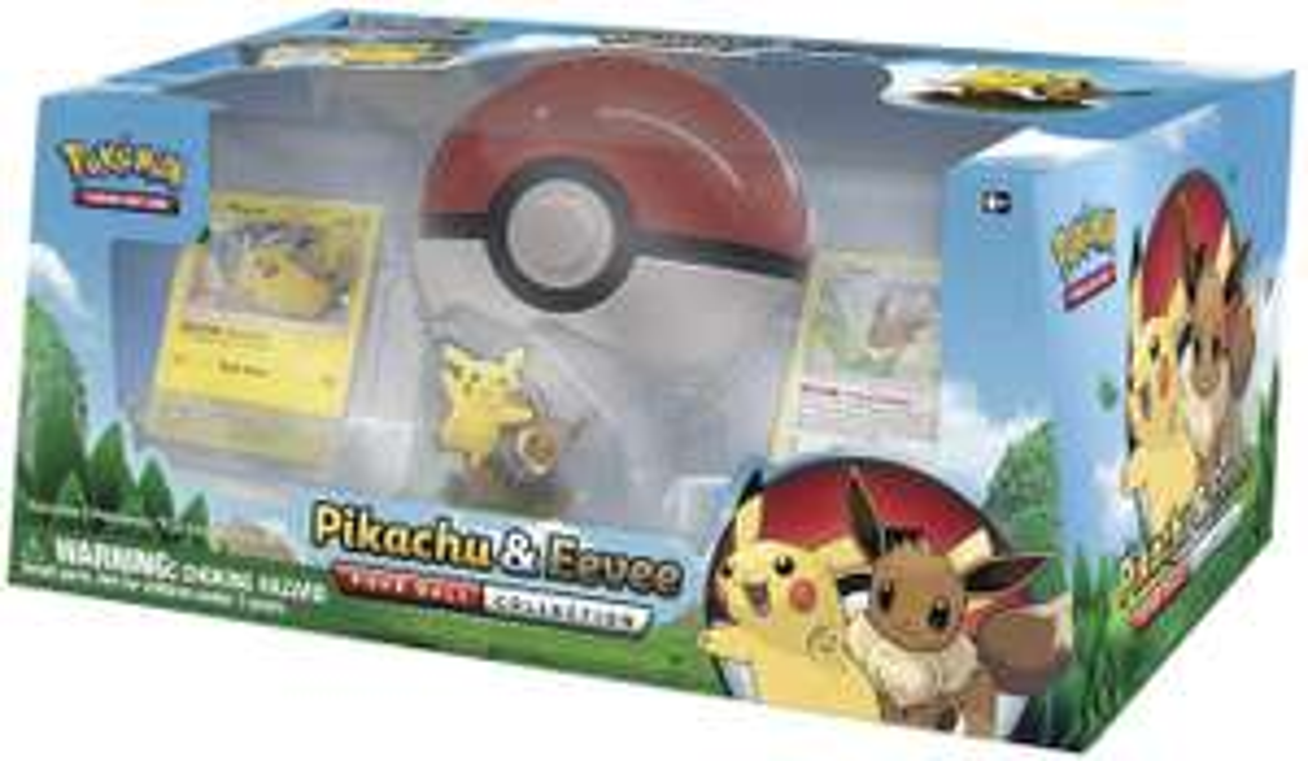 Pokemon TCG Pikachu & Eevee Pokeball Collection - £18.55 delivered @ Magic madhouse