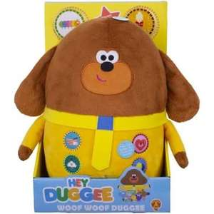 Hey Duggee Woof Duggee Soft Toy @ Amazon - £18.99 Prime / £23.48 non-Prime