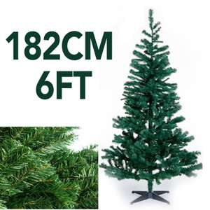 6FT Christmas Tree with Stand £8.99 / 5FT £7.99 / 4FT 6.99 delivered @ cenos-tech ebay