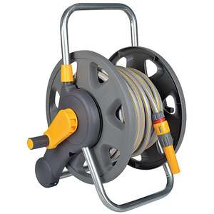 Hozelock Hose Reel Cart 45m + Hose 20m for £20 Free Click & Collect @ Wickes