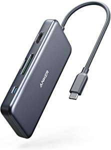Anker USB C Hub 7-in-1 with charging port (Refurbished)  - £27.99 - Sold by Anker Direct / Fulfilled by Amazon