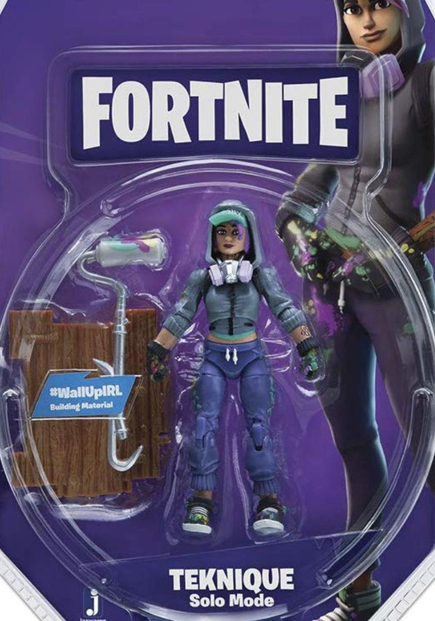 Fortnite Teknique Solo Mode Figure £4.99 Smyths Toys