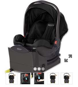 Graco snugride i-size baby car seat with base – midnight black £95  Mothercare