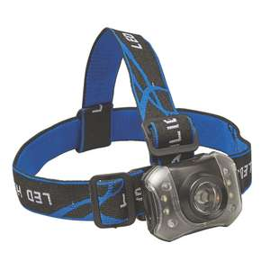 Diall T4-3 LED Headlamp 3 x AAA - £4.99 @ Screwfix (Free Click & Collect / or Diall T4-2 Headlamp £3.99)