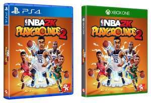 NBA 2K Playgrounds 2 (PS4 / Xbox One) - £4.99 @ Game  (Free Click & Collect /  £1.95 Delivery)