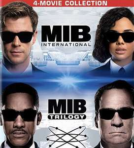 Men in Black 4 Movie Collection £24.99 @ iTunes