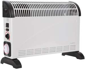 Nedis Convection Heater 750/1250/2000 W  - Turbo & Timer - £13.47 delivered @ eBuyer