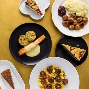 Any 2 selected main courses and 2 desserts for £10 with IKEA family