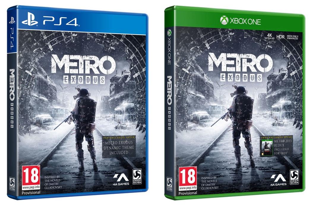 Metro Exodus inc Dynamic Theme (PS4 / Xbox One) + Creatures of Metro Exodus poster - £19.85 delivered @ ShopTo