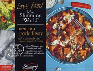 Slimming world ready meal - Pork Fiesta £1 @ Iceland
