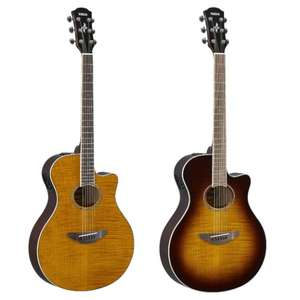 Yamaha APX600FM Flame Maple Electro Acoustic Guitars - Tobacco Sunburst or Amber £199 + Free Next Day Delivery @ GuitarGuitar