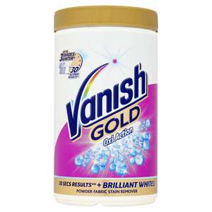 Vanish Oxi-Action Fabric Stain Remover 1.35kg -  2 for £9 @  Lidl