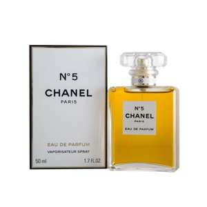 Chanel No.5 EDP 50ml £63.20 @ Manchester Airport (Duty Free Airside)