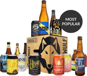 Extra £2.50 off Mixed Beer Case (£23.71) with Voucher Code @ Beerwulf