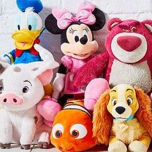 Medium Sized Disney Soft Toys £12.50 with Free Personalisation @ Disney Shop (£3.95 Del or Free when spending £50)