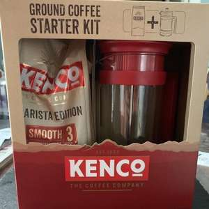 Kenco Cafetière and Ground Coffee Starter Kit for £4.50 @ ASDA (Llanelli)