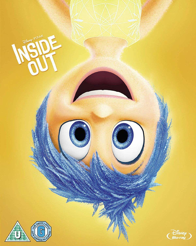 Inside Out Disney Blu Ray £4.39 @ Amazon Prime / £7.38 Non Prime
