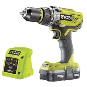 ITS: Ryobi R18PD3-113G 18v ONE+ Combi Drill £77.99 Delivered