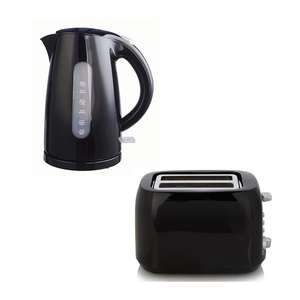 1.7L 3000W Kettle £9 / Matching Toaster £9 @ George - Free Click & Collect