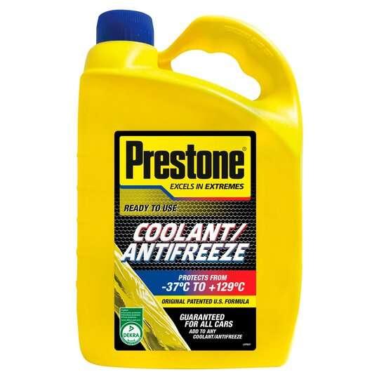 Prestone Antifreeze / Coolant 4L - £7 @ Tesco in store & online