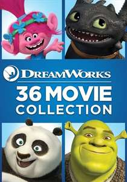 Dreamworks 36 Movie Collection £69.99 (£1.94 a movie) @ Sky Store