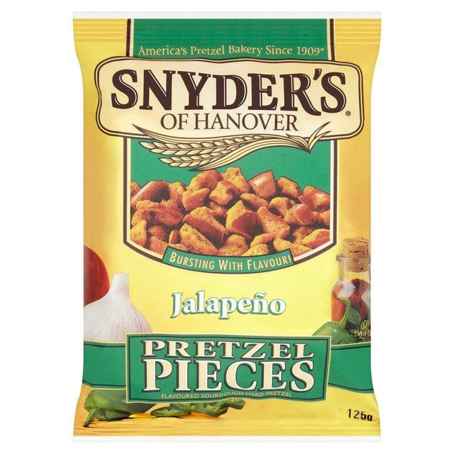 Snyder's of Hanover Jalapeno Pretzel Pieces 125g 97p @ Morrisons