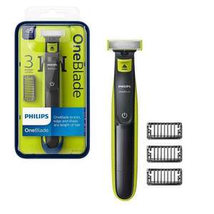 Philips OneBlade Rechargeable Facial Trim Edge and Shave Beard Hair Trimmer Kit - QP2520/25 £24.99 at 7dayShop