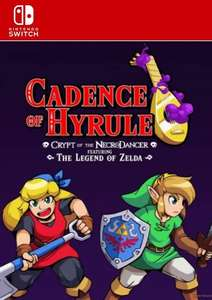 Cadence of Hyrule - Crypt of the NecroDancer Featuring The Legend of Zelda Switch £18.99 @ CDKeys
