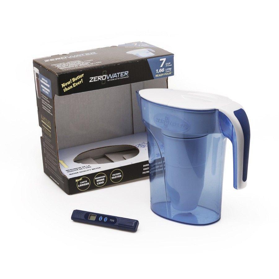 ZeroWater 1.7L Filter Jug - Blue £16.49 + Free Click & Collect @ Robert Dyas