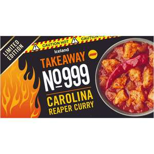 Carolina Reaper Curry Ltd Edition £2 each or 3 for £4 at Iceland/Food Warehouse