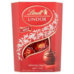 Lindt Lindor Milk Chocolate Truffles 200g - £2.09 at Asda (Nationwide - Found in Raunds)