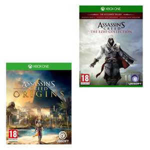 [Xbox One] Assassin's Creed Origins / The Ezio Collection - £12.95 each delivered @ The Game Collection