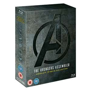 Avengers 4-Movie Blu-Ray box set £24.99 (With Code) including delivery @ Disney Store